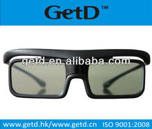 LCD shutter glasses used to view 3d movies on 3D TV