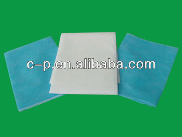 Single surgical/domestic/hotel used needle-pouched/PE+PP/spunlace nonwoven Pillowslip