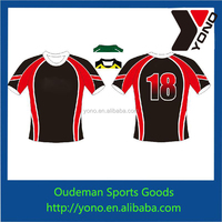 Custom design rugby jersey team wear from china manufacture