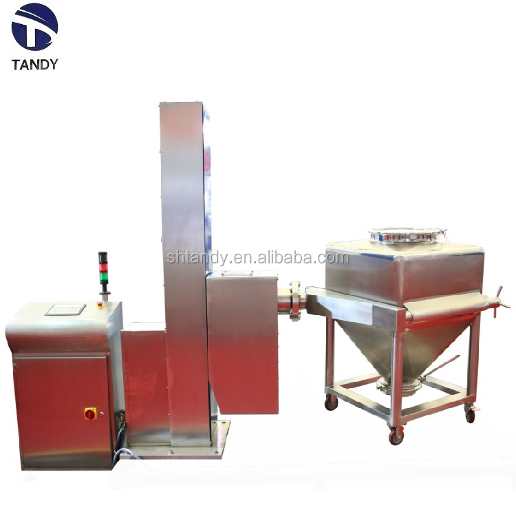 pharmacy industrial equipment post bin blender /lifting  bin mixer