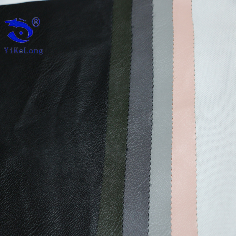 China Manufacturer Smoothing And Soft Surface Garments Rexine PU Leather Waterproof Garment Leather