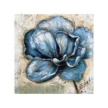 Abstract Flower Oil Painting for Living room wall decoration