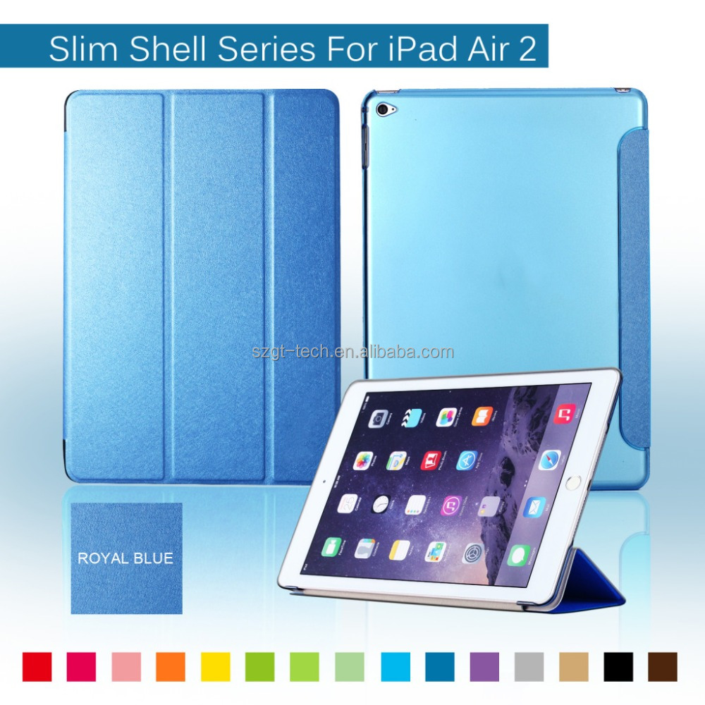 2016 Wholesale for ipad air case rubber , pc tablet case for Apple ipad air 2 9.7inch