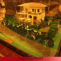 tiny Villa model and architectural models for real estate export to Latvia/Czech/Slovak