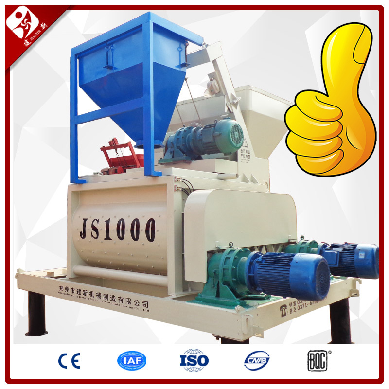 Js1000 Perfect Design Good Automatic Electric 1000L Concrete Mixer Prices In India With Automatic Lubrication
