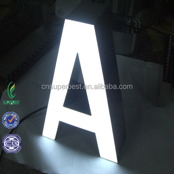 Manufacturer Customized Led Illuminated Acrylic Sign