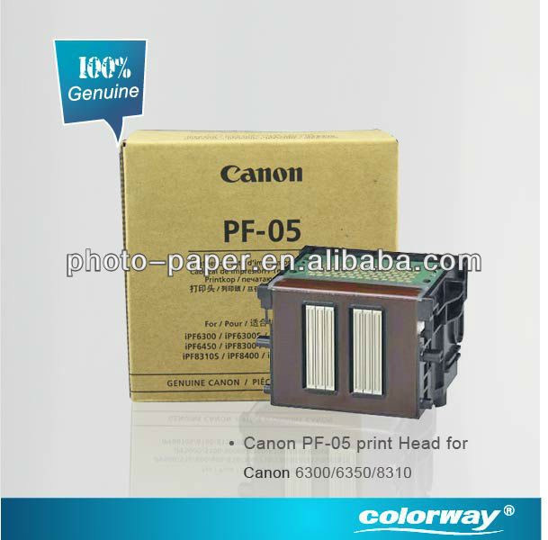 PF-05 Canon Original Inkjet Printer Head(Canon Wide Format Printer Canon 6300\6350\8310, HP ink is also supplied)
