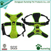 Best Front Range No-Pull Dog Harness, 3M Reflective Outdoor Adventure Pet Vest with Handle and Two Leash Attachments.