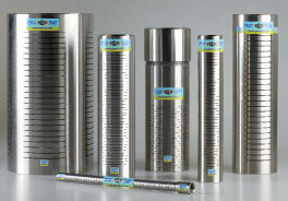 Piezometric pipes in stainless steel