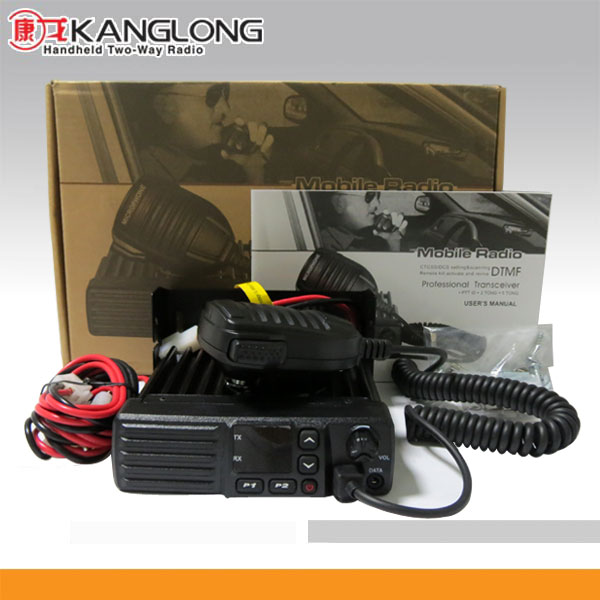 KL- M880 Mobile radio high power 60w with vhf uhf two way car radio