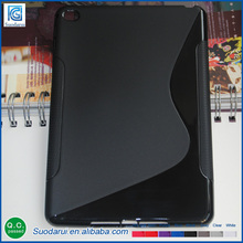 S-line TPU Cover case for Apple iPad mini 4 flexible soft gel case Mix colors