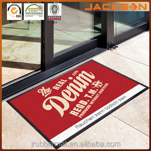 Printed New Designer Front Indoor Entry Shoe Cleaning Rubber Large Door Mat