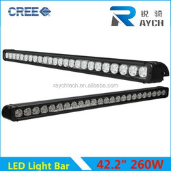 CE Approved Professional 39inch 240W waterProof shake resistance one row led roof light bar for 4x4 racing off road auto bar