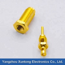 SMA Female Nut Mounted Crimp SMA -KY-<strong>C</strong>-1.5 RF Coaxial Connector For RG174 RG316