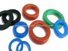 custom rubber gasket/colorful rubber ring/rubber cradle
