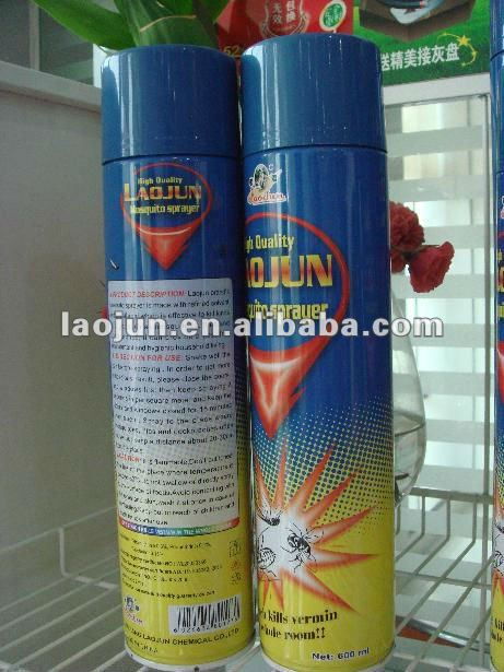Africa market mosquito spray insecticide aerosol