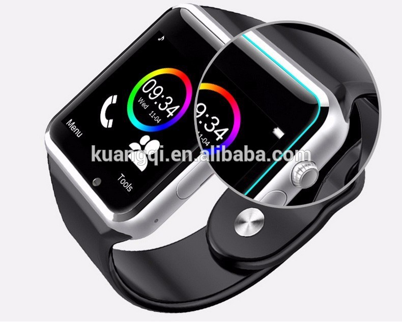 Hot selling 4g rom smart wrist watch android smart watch w88 watch phone android wifi gps