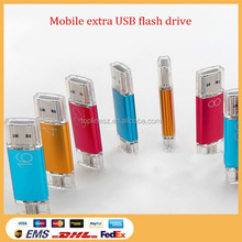 OTG Usb Flash Drives,OTG Usb For Smartphone & PC Pendrive Memory Stick OTG Ultra Dual 16GB USB Micro Pen Flash