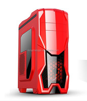 super quality red gaming atx computer case/desktop gaming pc case/computer pc gaming
