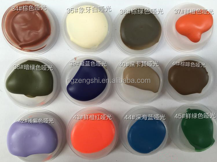 Low price high quality Edge paint for leather inking colors