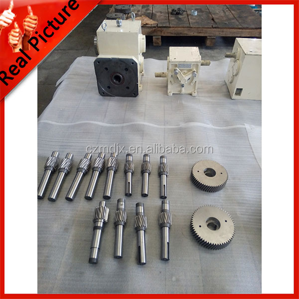 helical gear reducer gear shaft