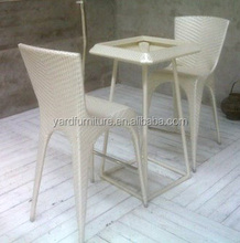 Elegant rattan weaving night club furniture