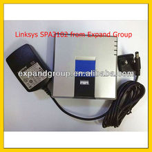 Linksys SPA 3102 VoIP Gateway 1 FXS + 1 FXO + 2 Ethernet