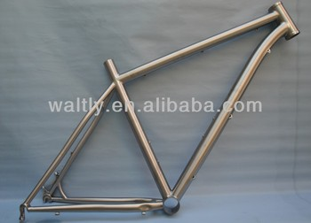"26"" MTB Titanium bicycle frame WTL-S075"
