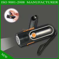 LED rechargeable/emergency/disastar prevention/present light torch,FM radio,flashlight,charge for mobile phone,3leds,hank crank