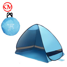 2017 wholesale waterproof sunshine protect luxury outdoor camping canopy popup tent