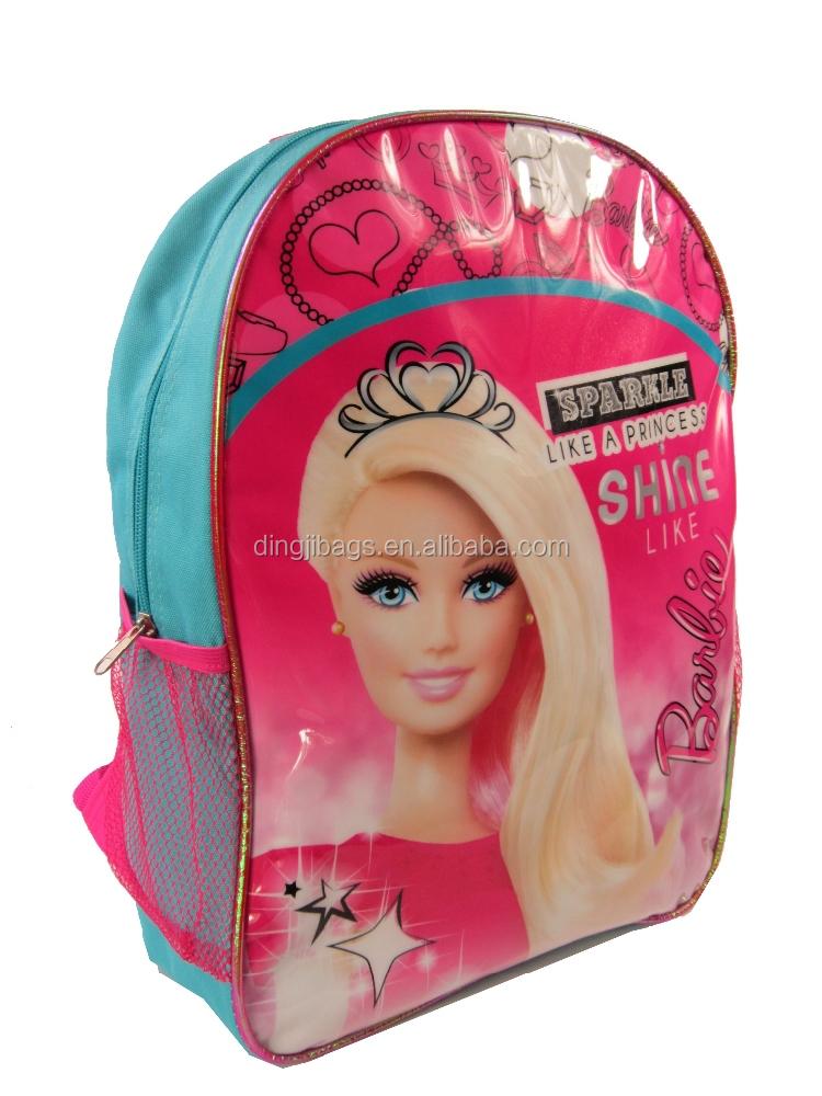Beautiful Barbie School Backpack For Teenage Girls