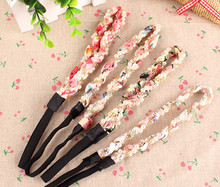 Fashion Pearl Flower Metal Headbands For Teen Girls