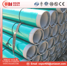ERW steel pipe with FBE coating