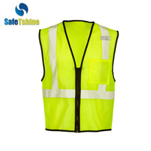 Popular EN1150 motorcycle reflective safety carpenter vests