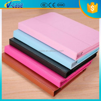 Stand Tablet Cover Litchi PU Leather Flip Tablet Case With Card Slot For Lenovo A5000