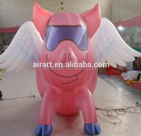 Sales of new products cheap winged custom inflatable model