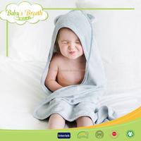 BHT05 Oeko-tex Standard 100 Bamboo Hooded Baby Bath Towel