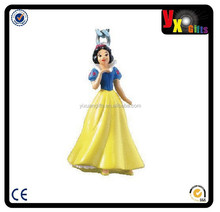 Snow White 3D PVC Figural Keyring/mother and daughter dress desi...