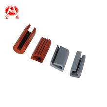 Silicone Rubber Extrusions Door Edge Trim Seal Strip
