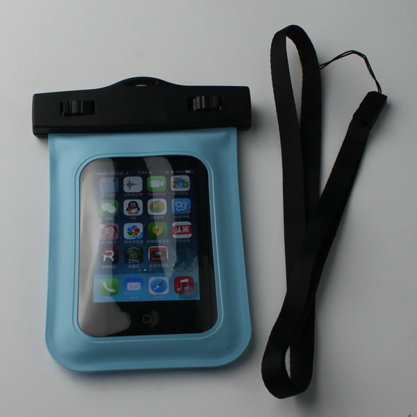 waterproof lanyard pouch for cellphone