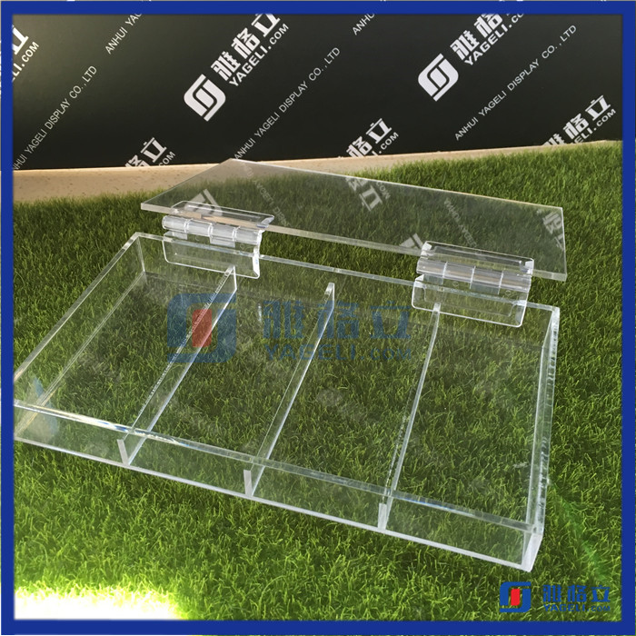 China Supplier Wholesale Acrylic Jewelry Box Tray Acrylic Jewelry Display Cases For Sale