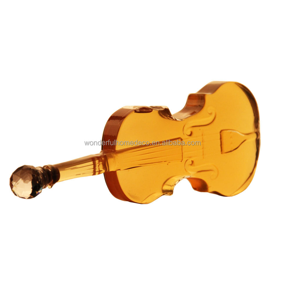 1000ML Handcraft Hand Blown Violin Shaped Glass Wine Bottles,Wine Glass Bottle