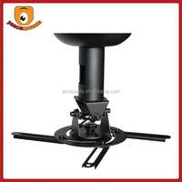 Manufacturer Exquisite Design Flexible Adjustable Pitch Roll and Rotate SPCC Metal Sturdy Projector Ceiling Mount
