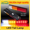 Independent mold development truck led lights tail light most popular high waterproof