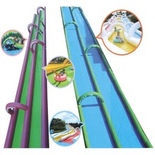 Commercial plam tree giant inflatable water slide for sale