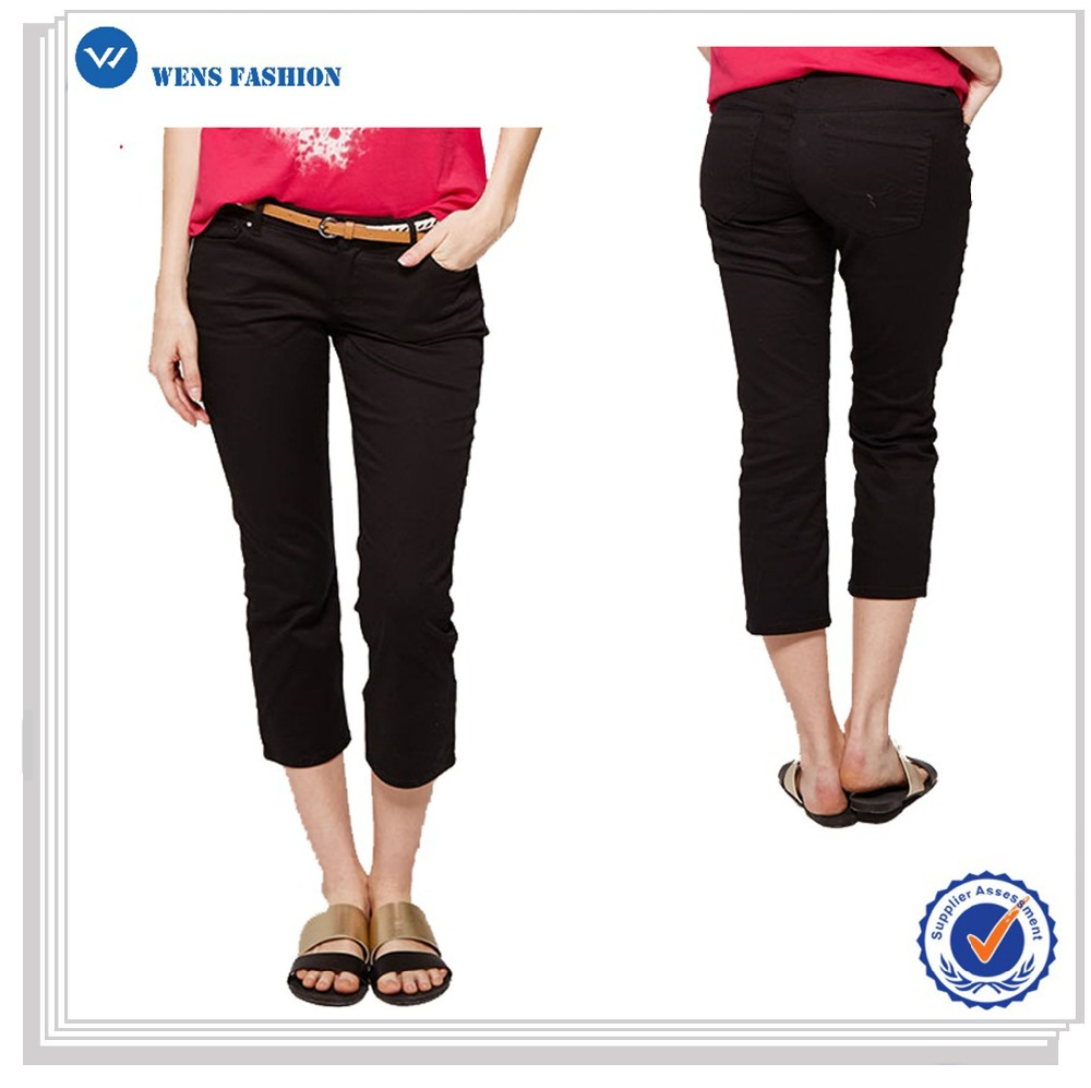 Hot Sale Custom High Quality 3/4 Cargo Pants For Women