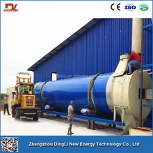 China Stainless Steel Coconut Silk Rotary Drum Dryer For India Market