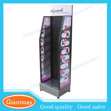 hair extensions metal hanging accessories display shelf for retail shop