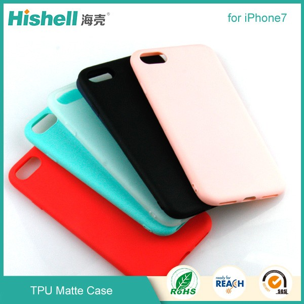TPU Matte phone Case for IPhone7