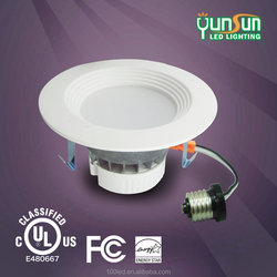 UL listed SMD led downlight ultra light down jacket retrofit dimmable led recessed down lights